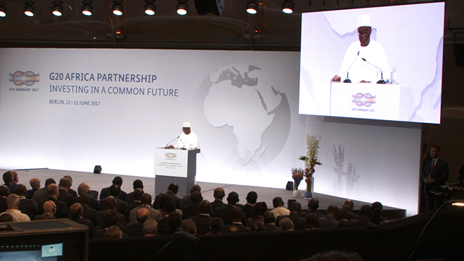 G20 Africa Partnership – <br>INVESTING IN A COMMON FUTURE