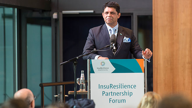 Expertenworkshop InsuResilience <br>GLOBAL PARTNERSHIP FORUM COP23